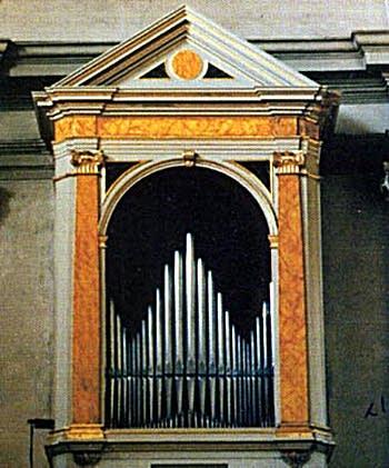1787 Callido organ at Saint Leonardo, Treviso, Italy
