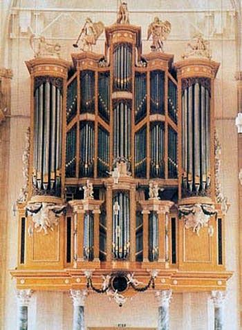 1796 Strumphler organ at Saint Eusebius Church, Arnhem, The Netherlands