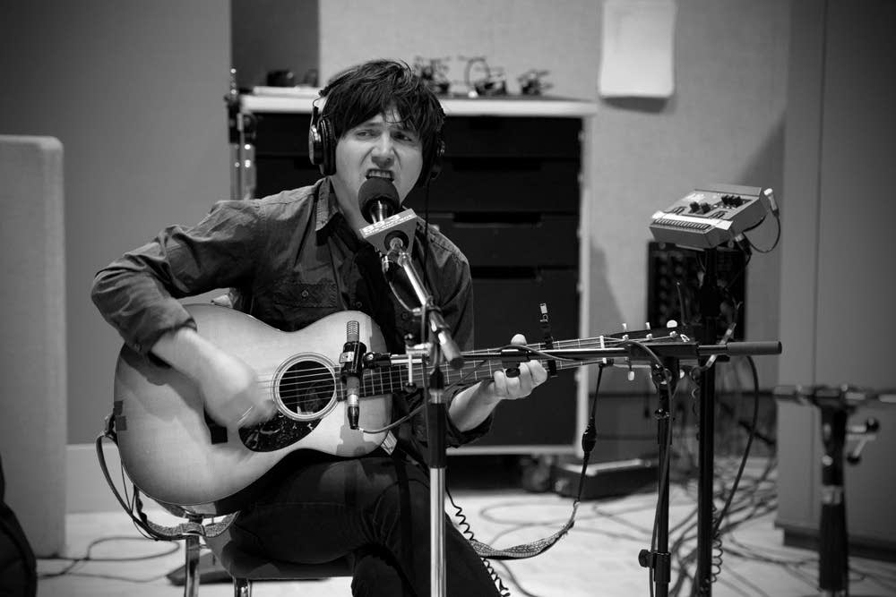 conor oberst and dawes in studio 4
