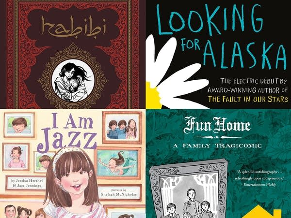 The most frequently challenged books of 2015
