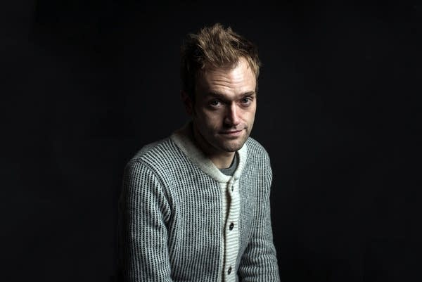 Chris Thile at the MPR Studios
