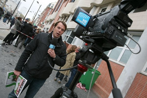 French reporter