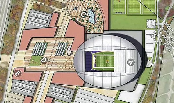 Arden Hills stadium
