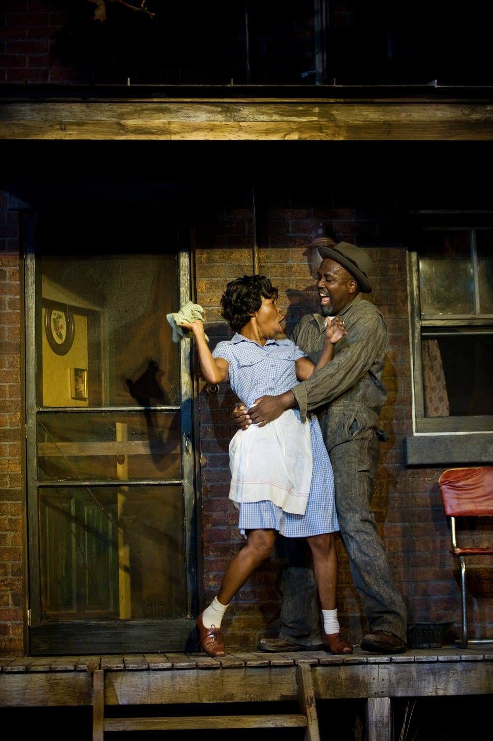 Exellent Fences By August Wilson Set Was Staged At The Penumbra Theatre In 2008 Intended Design Ideas