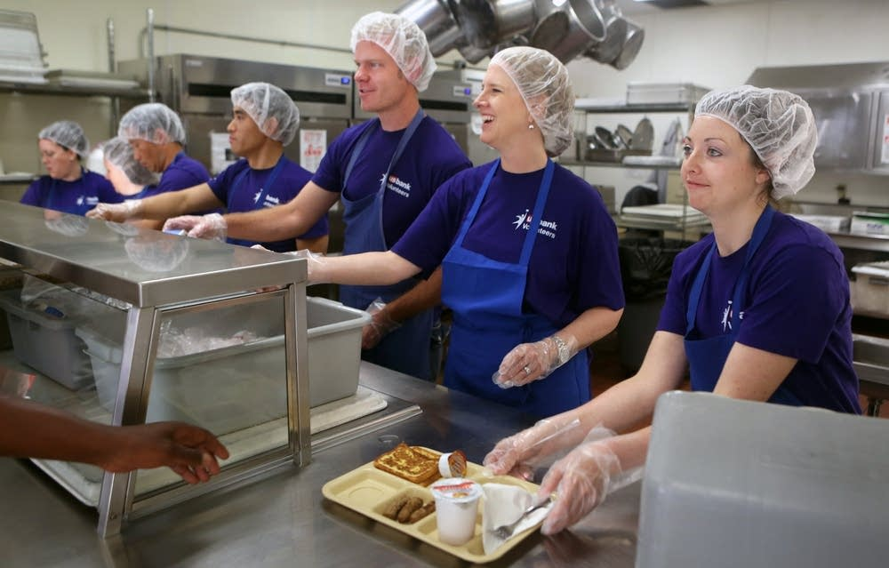 Serving at Catholic Charities