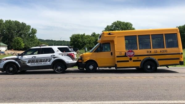 Yellow Medicine County Sheriff's deputies stopped a runaway school bus.