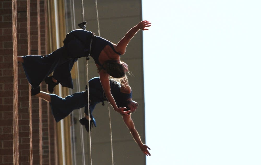 Aerial dancing