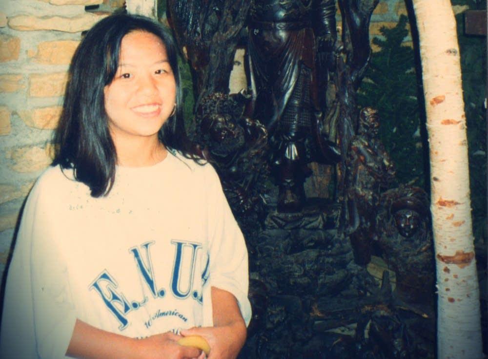 Youa Vang at age 13