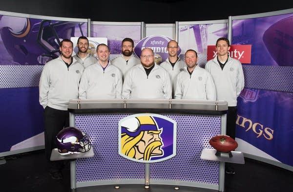 The Vikings Media Entertainment Network team
