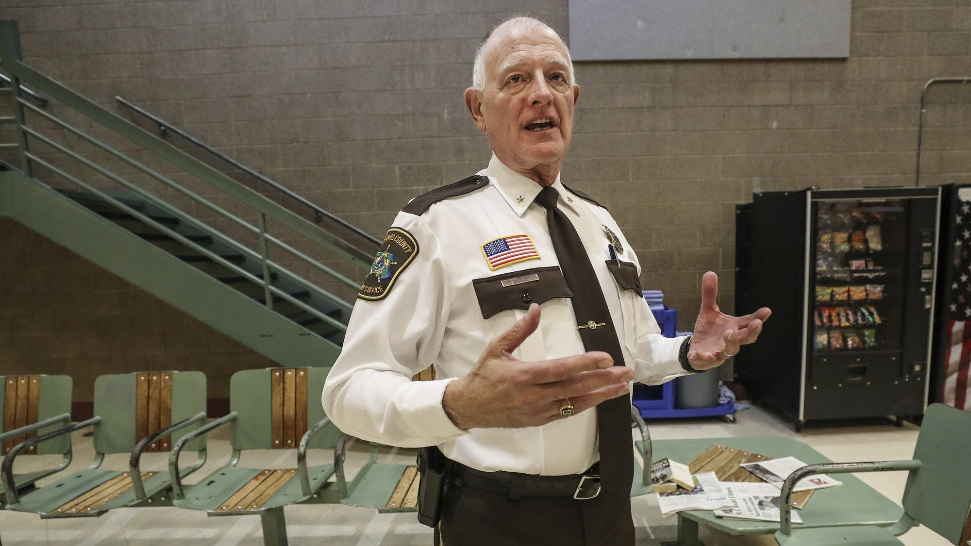 New Stearns County Sheriff Don Gudmundson talks about some of the changes.