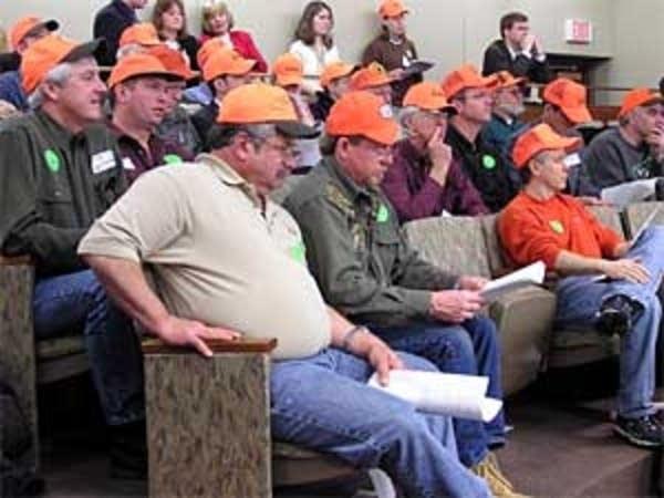 Amendment supporters