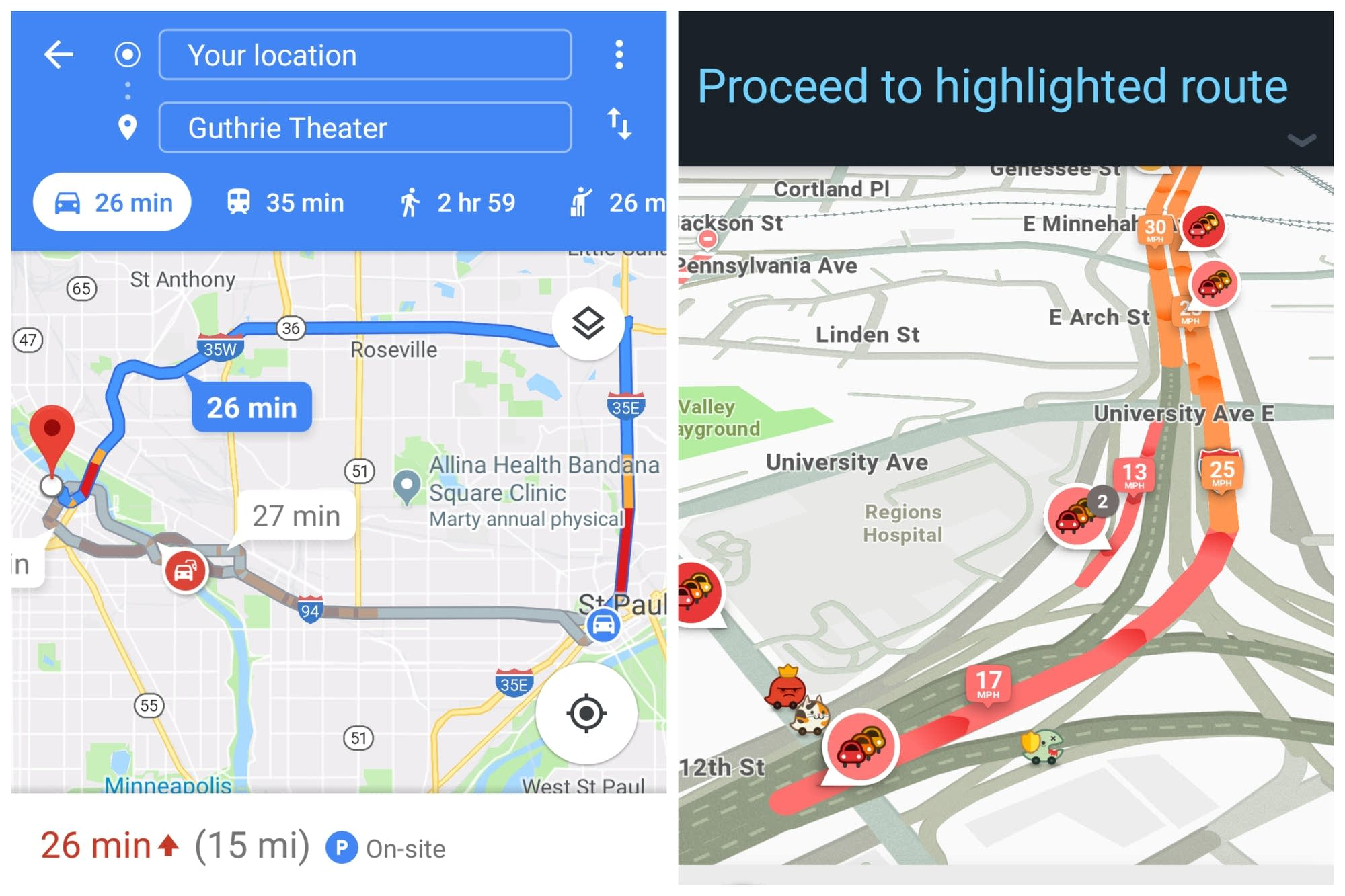 There's an app to avoid that traffic jam | MPR News