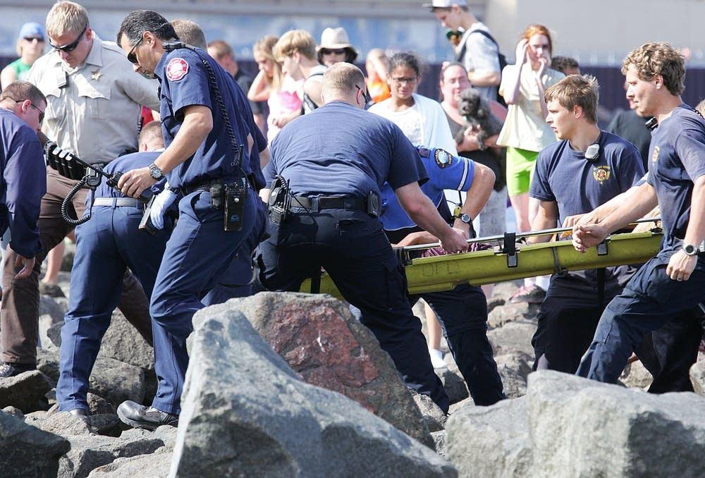 Lake Superior rescue