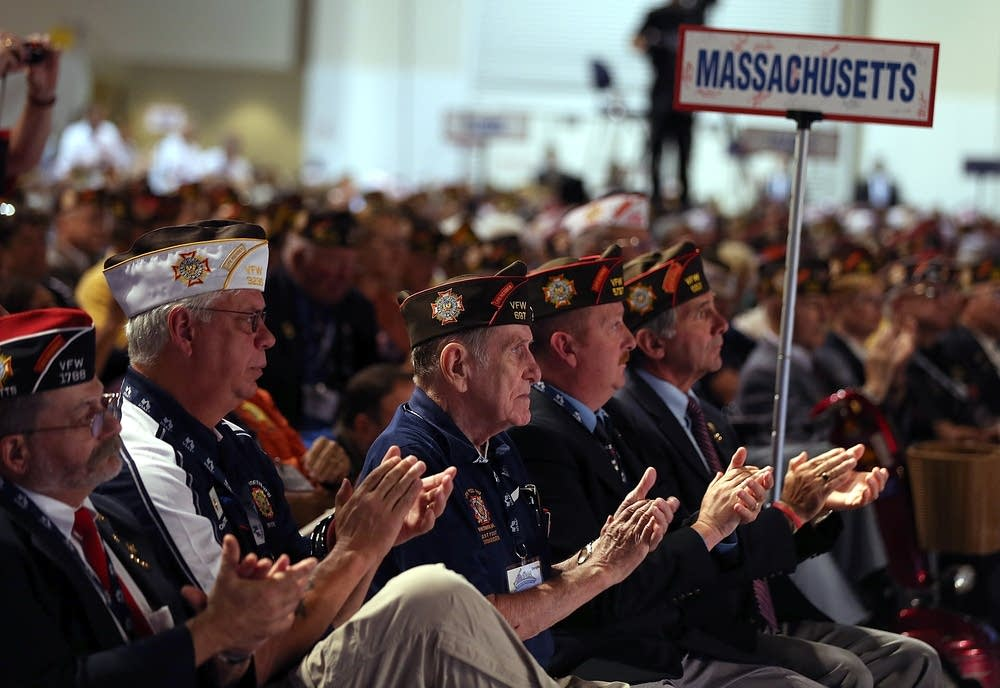 VFW members from Massachusetts