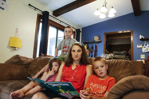 Collapse survivor Kelly Kahle is a stay-at-home mother today