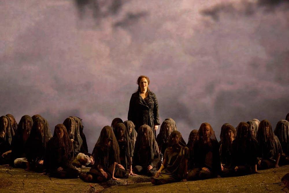 Katarina Dalayman as Kundry in Wagner's Parsifal.