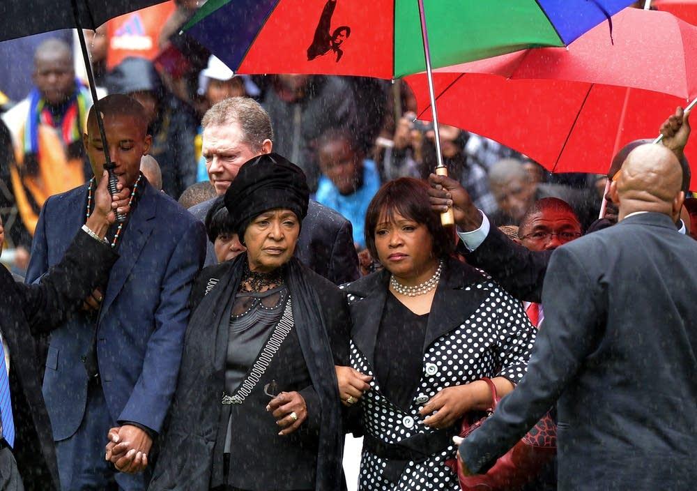 Mandela's family