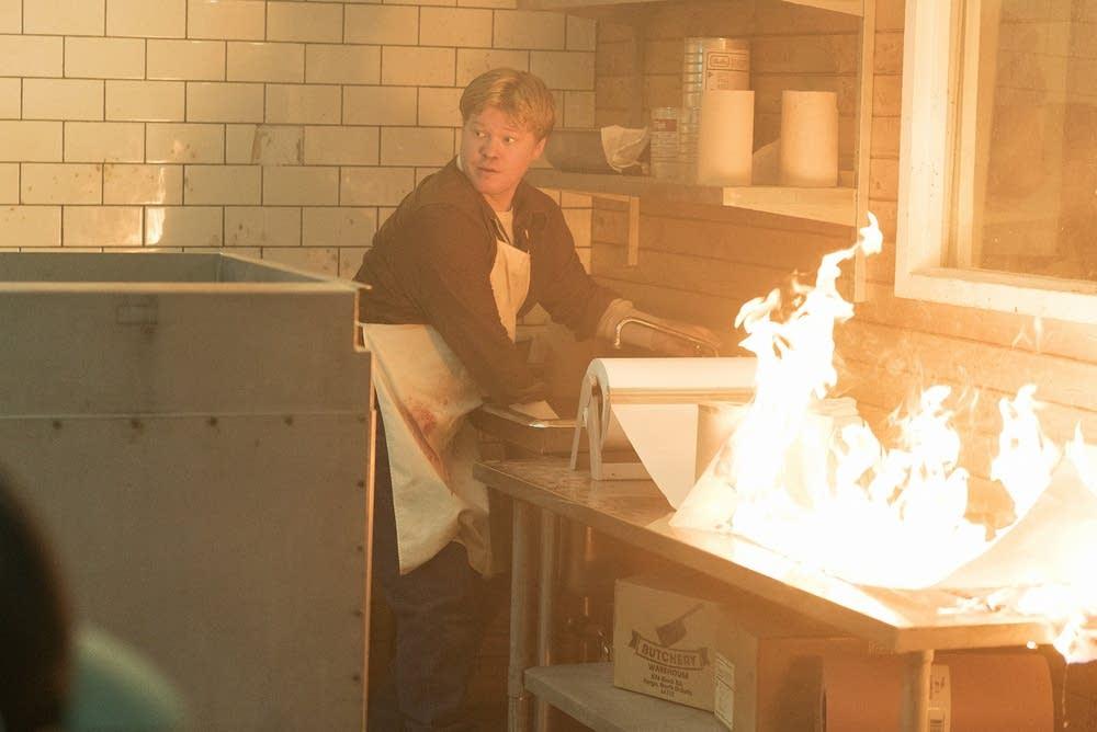 Ed Blumquist feeling the heat on 'Fargo'