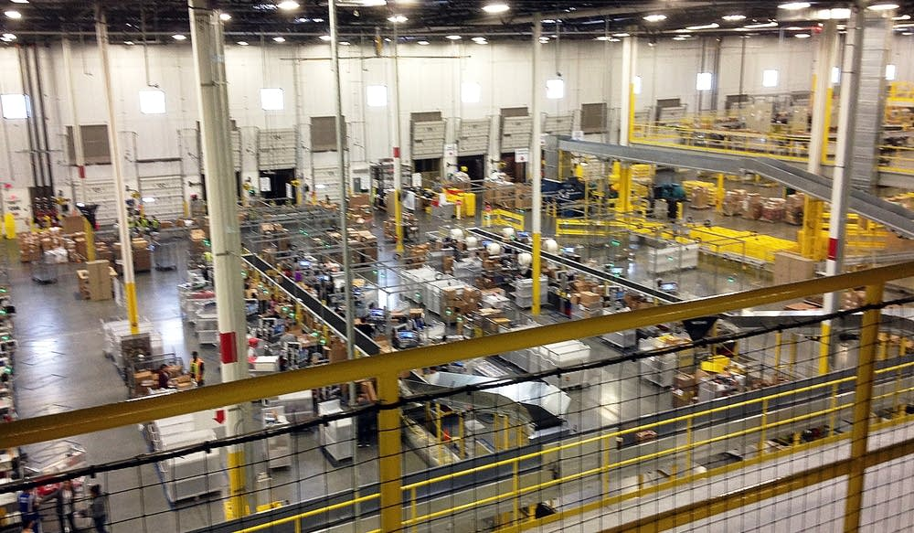 Amazon And Whole Foods And Distribution Center