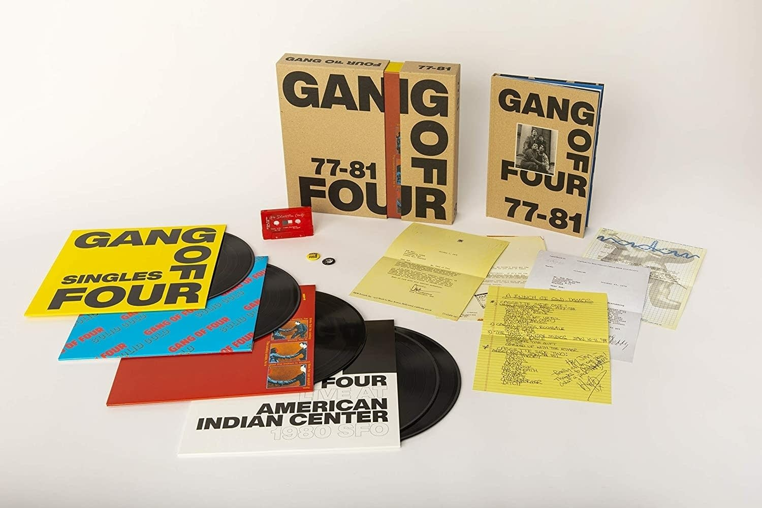Gang of Four '77 to '81 box set