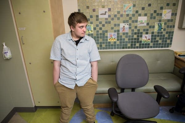 Grayson is a 14-year-old boy who is transitioning from female to male.