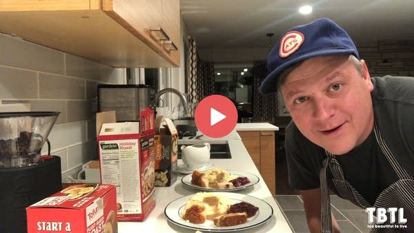 Luke tests his meatless Thanksgiving options in this Hey Dummies video