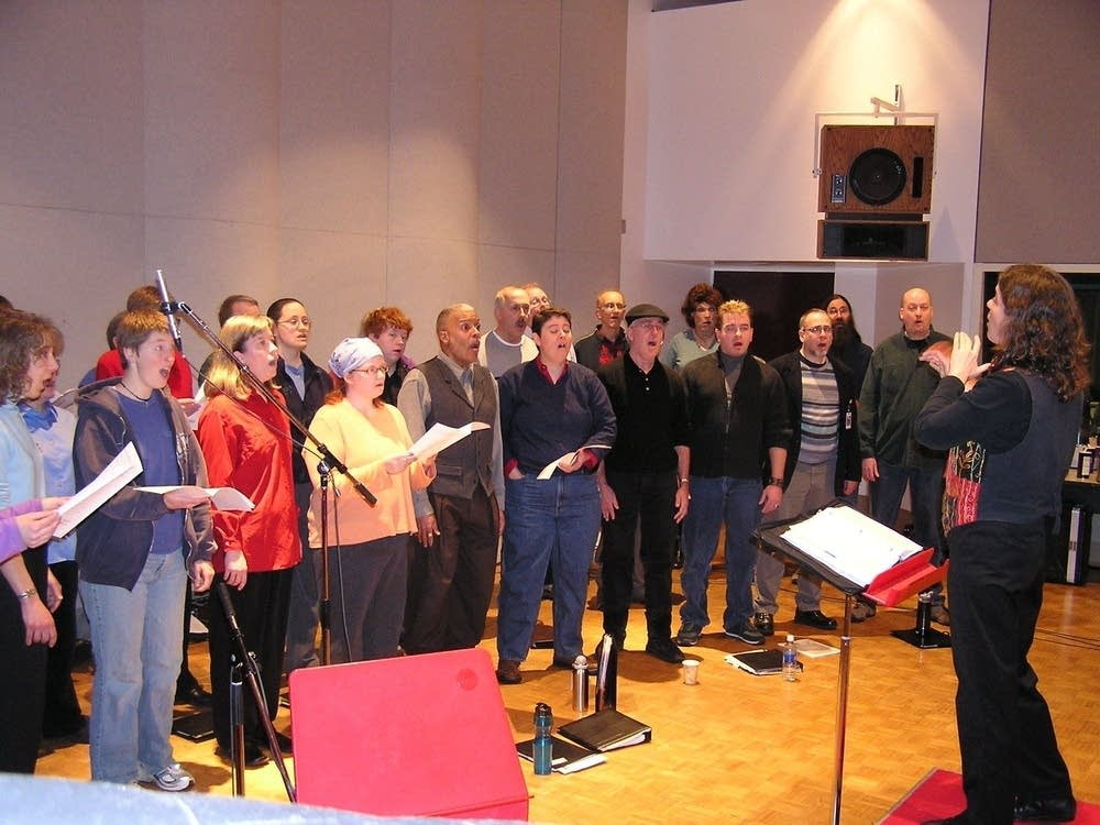 One Voice Mixed Chorus at MPR