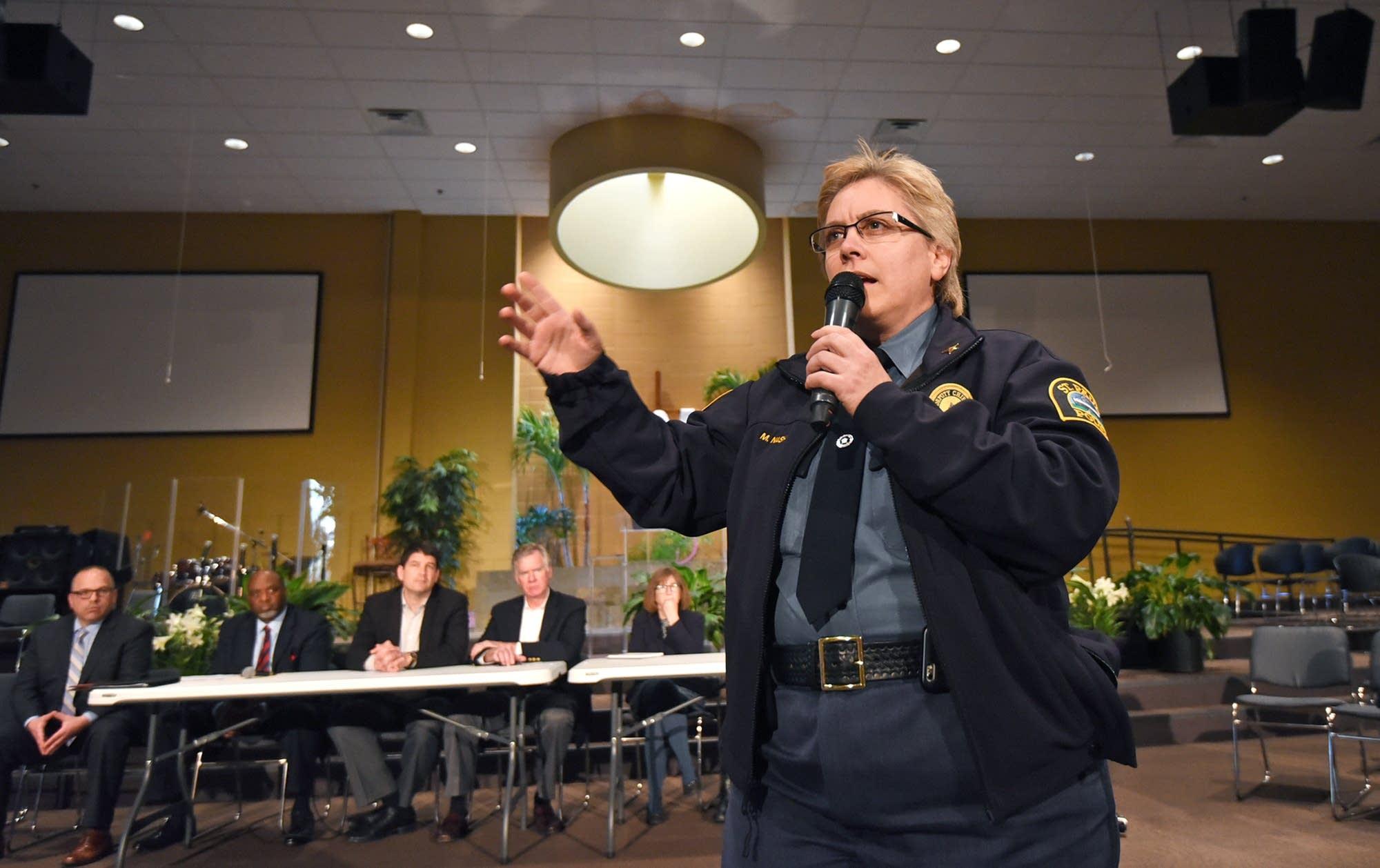 St. Paul Police Deputy Chief Mary Nash