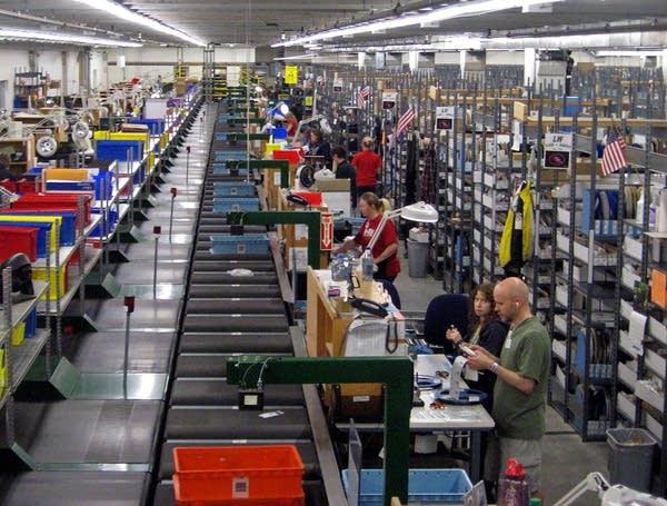 Digi-Key warehouse