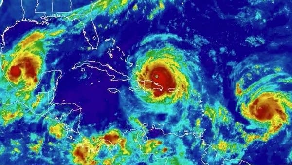 NOAA 3 hurricanes
