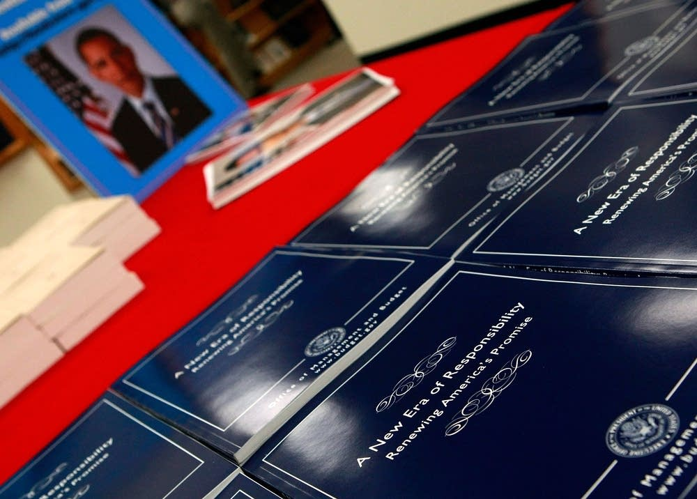 Copies Of Obama's FY2010 Federal Budget
