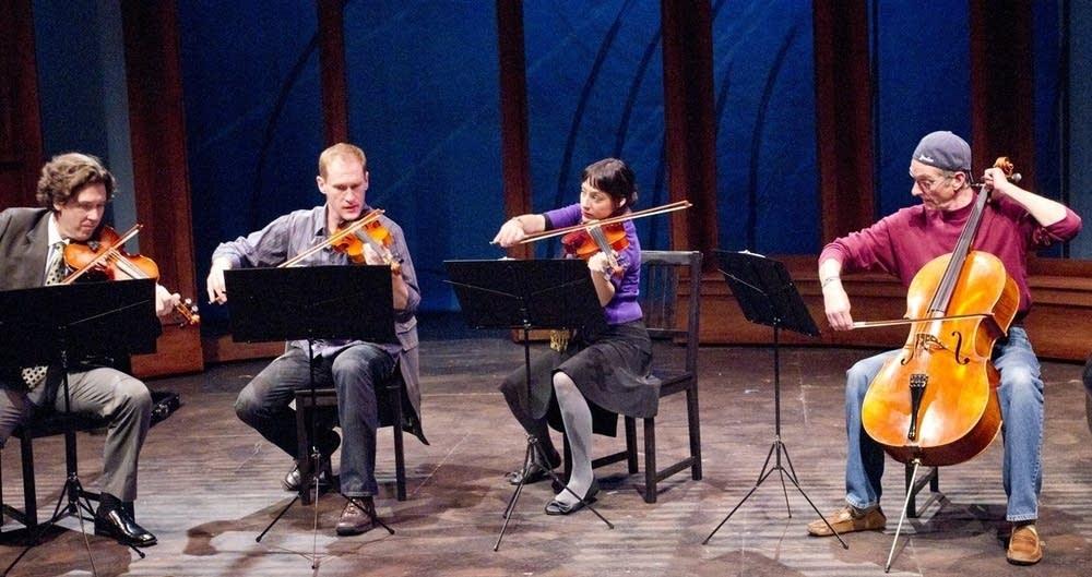 """""""Opus"""" string quartet"""