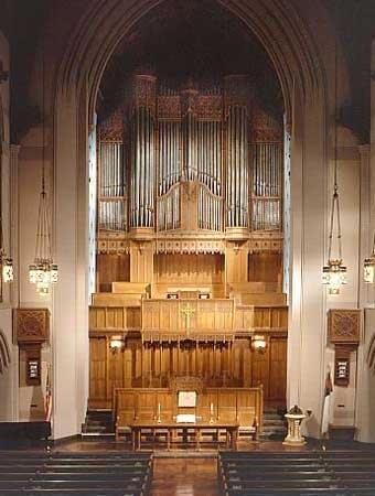 1926 Skinner organ at Jefferson Avenue Presbyterian Church, Detroit, MI