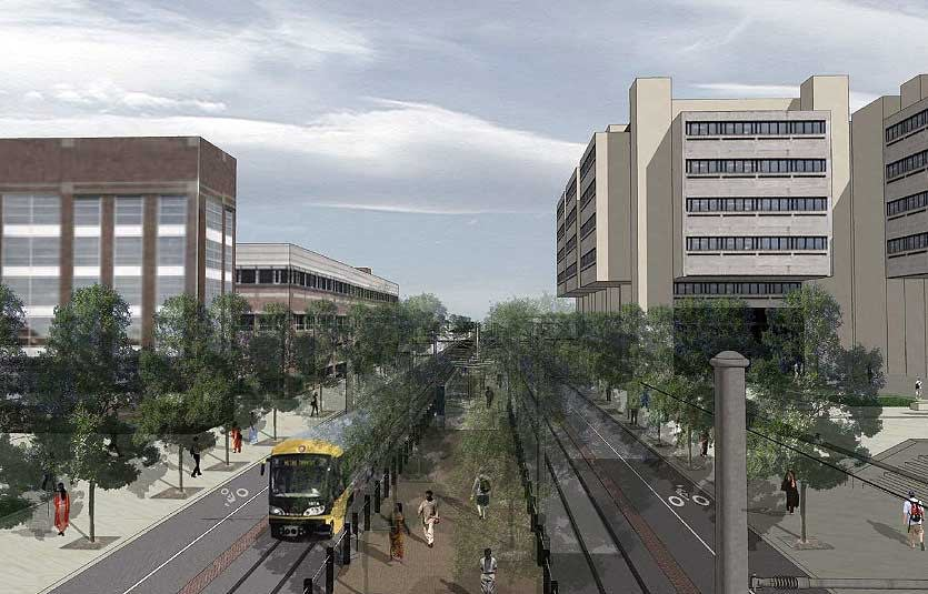 Washington Avenue rendering