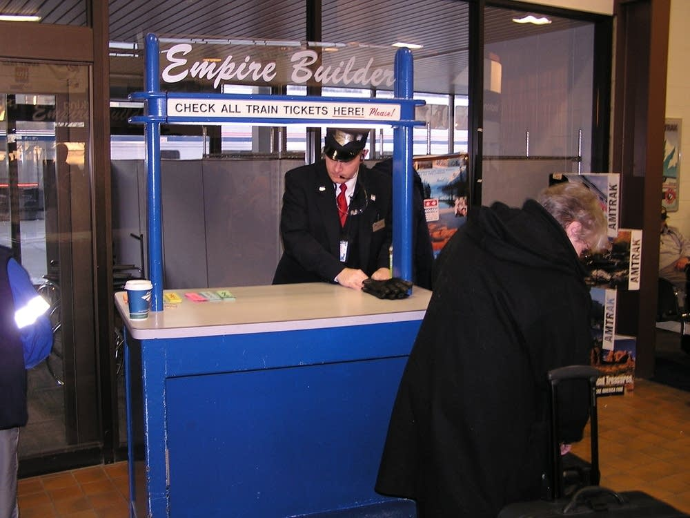 Passenger check-in