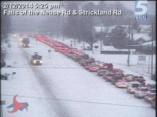 Raleigh Gridlock: 'Snowpocalypse II' in progress | MPR News