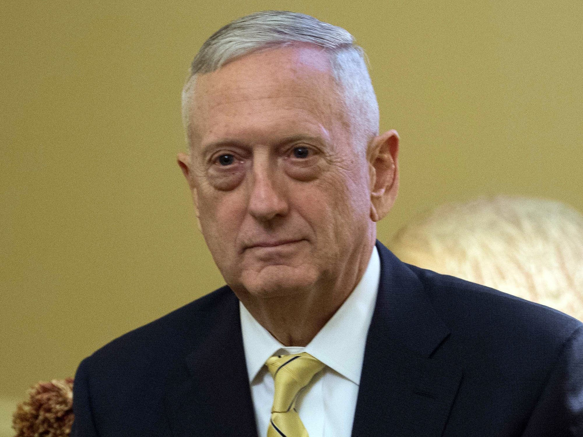U.S. Defense Secretary nominee James Mattis