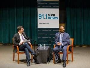 1A host Joshua Johnson spoke with MPR's Tom Weber at St. Thomas University.