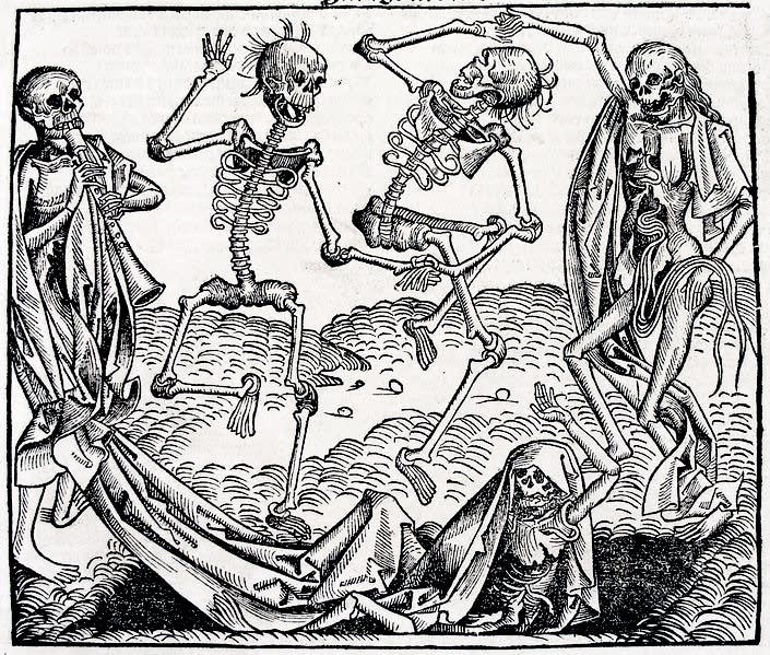 Totentanz by Hans Holbein the Younger