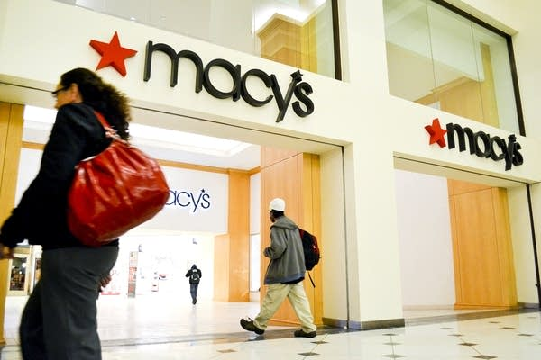 Macy's department store in downtown St. Paul