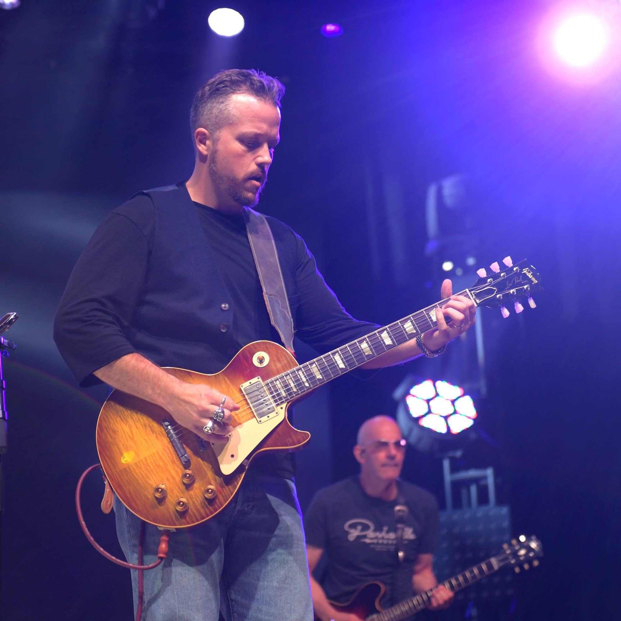 Jason Isbell onstage