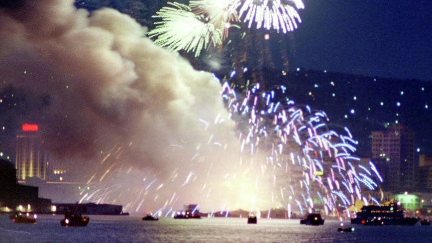 Twin Ports fireworks explosion on July 4, 1988.
