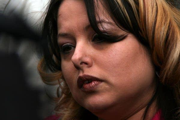 Juror Michelle Entsminger