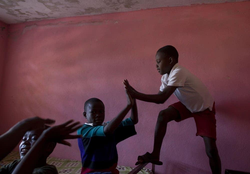 Haitian orphanage