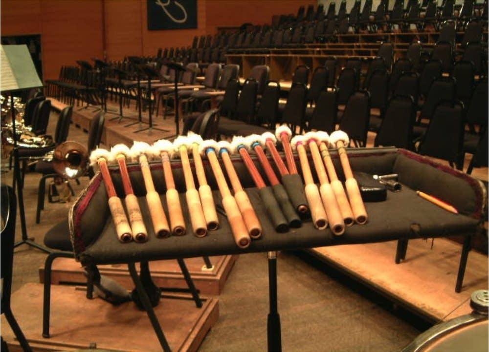 Timpani sticks
