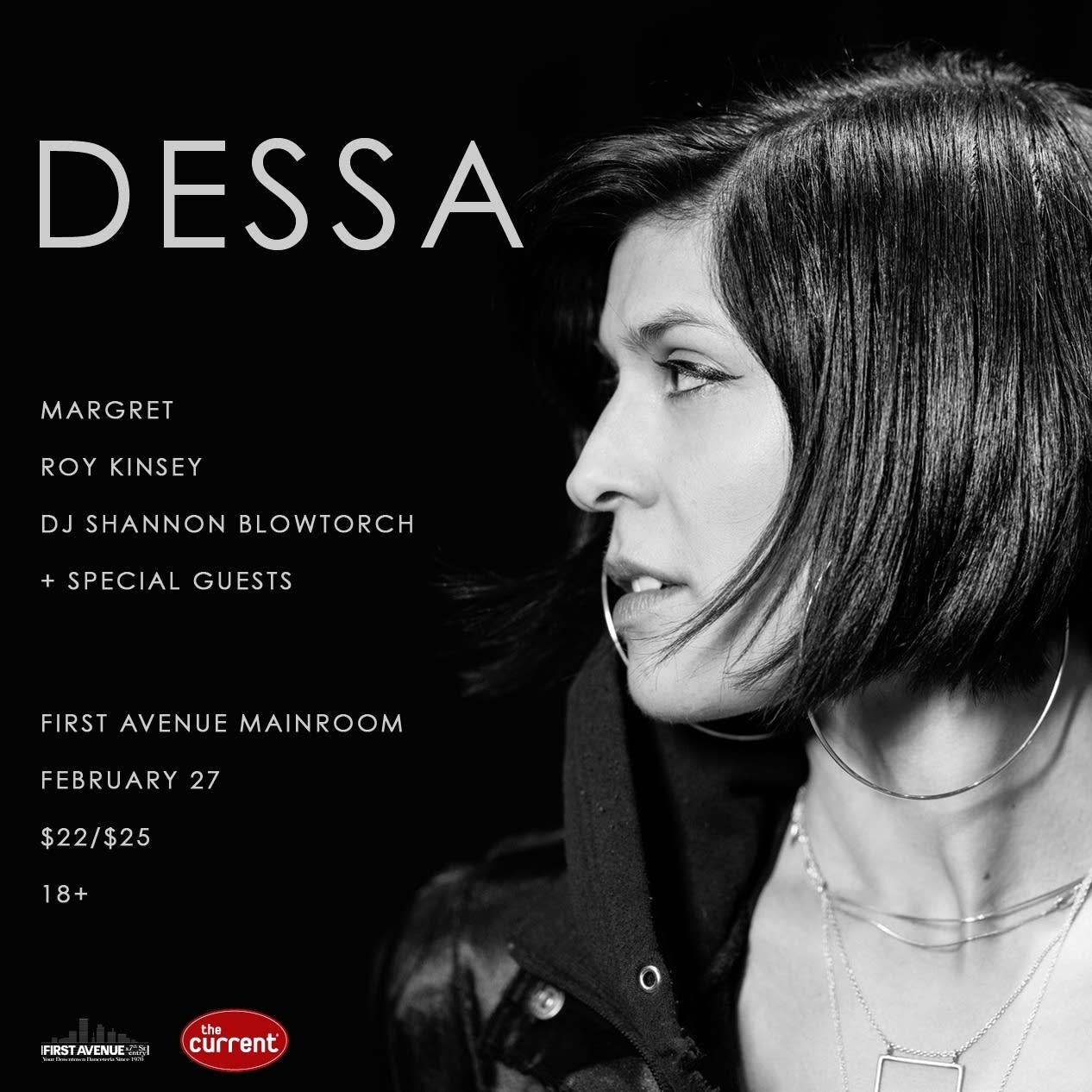 Dessa at First Avenue February 27, 2020