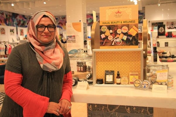 Annie Qaiser and her Silk Road Wellness products