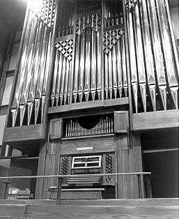1983 Jan van Daalen at Jehovah Lutheran Church, Saint Paul, MN