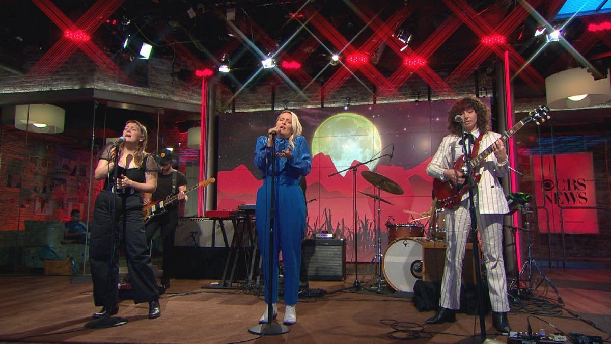 Joseph perform on 'CBS This Morning' Saturday Sessions