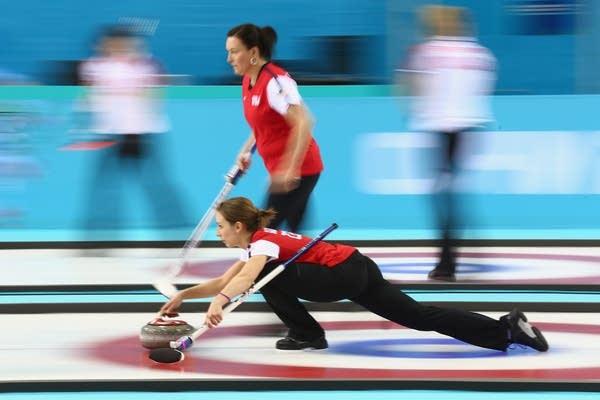 USA women's curling